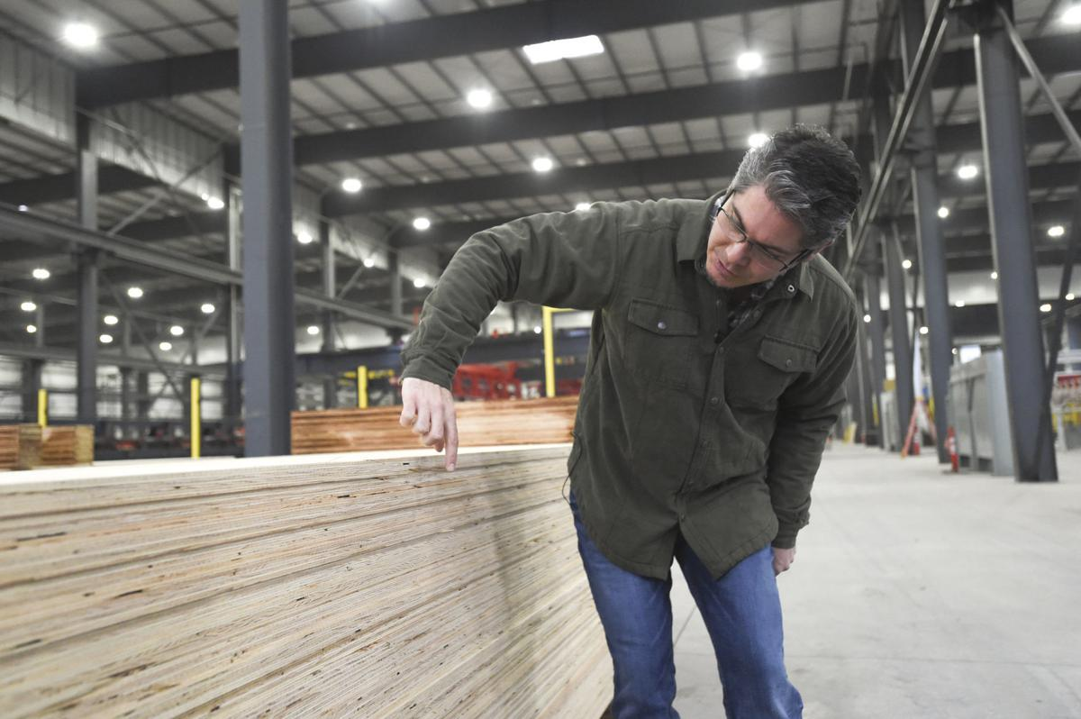 New Plywood Mill at Freres Lumber