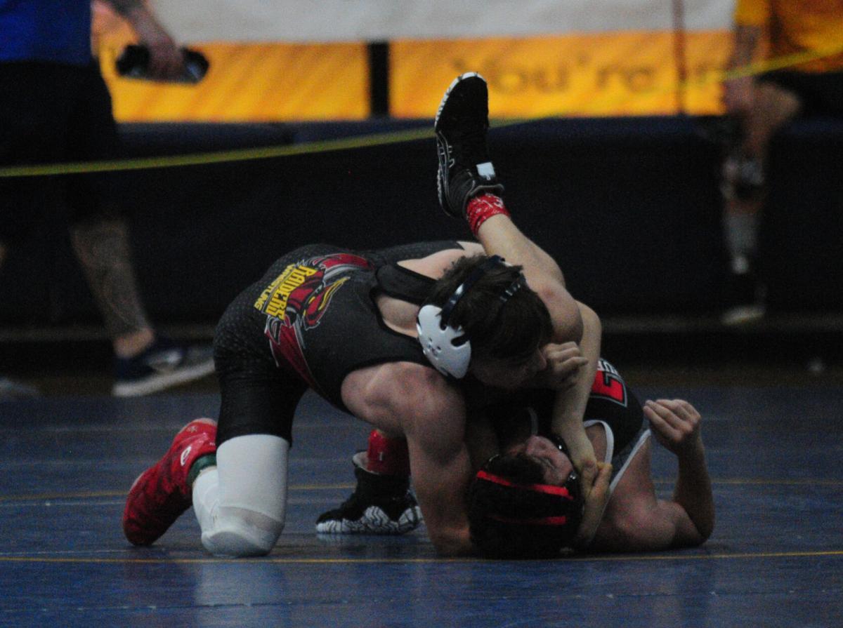 Prep wrestling: CV at 5A meet