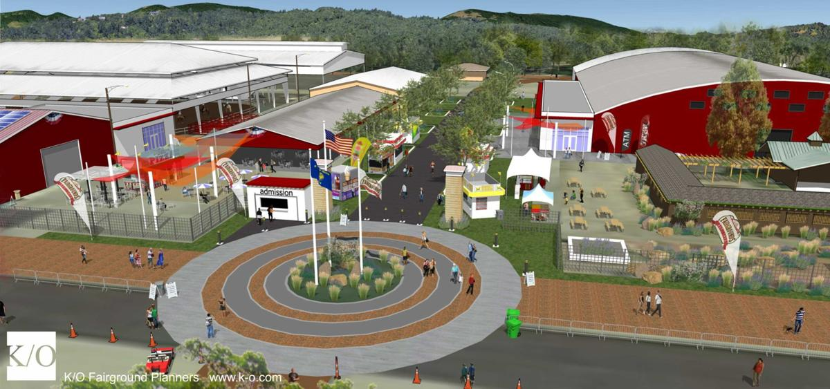 Benton County Fairgrounds artwork