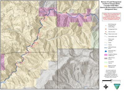 Blm Removes 12 Camping Sites Along Quartzville Corridor News