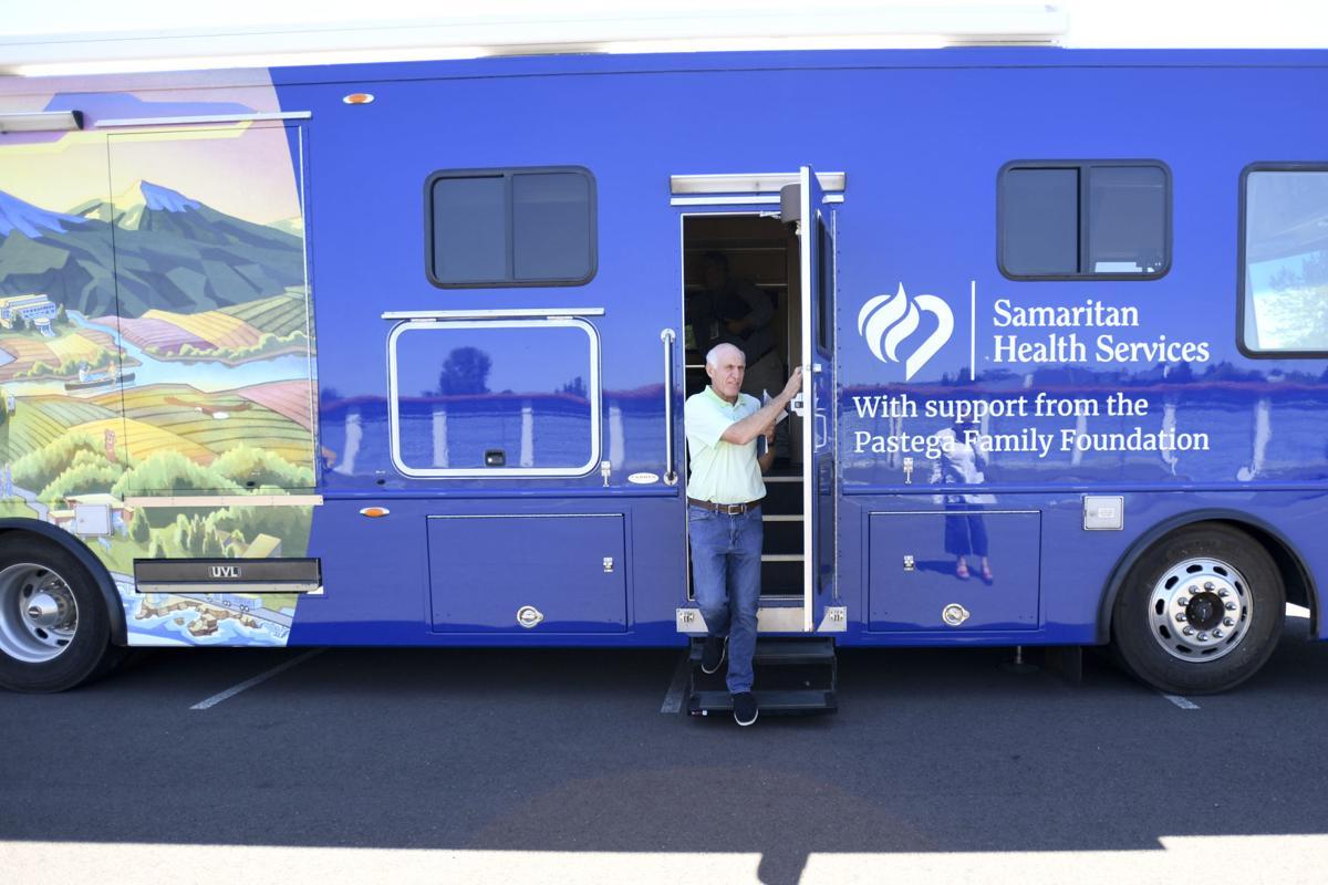 Pastegas, Samaritan team up with medical bus   News   democratherald com