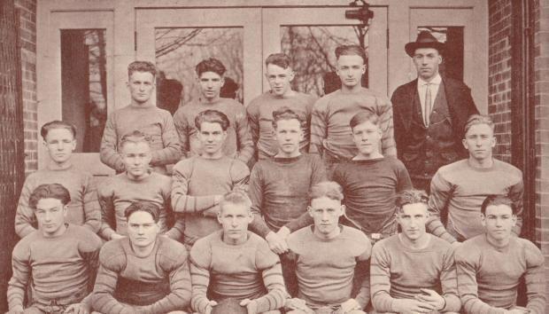 Albany football 1922
