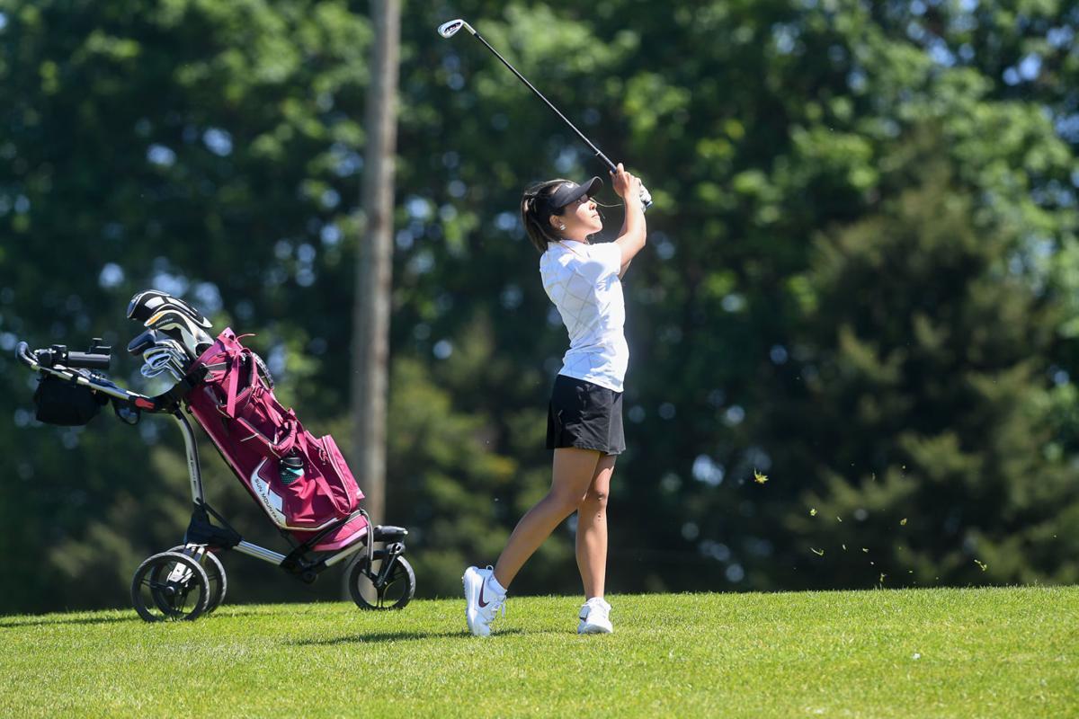 Mid-Willamette Conference girls golf Marriott 01