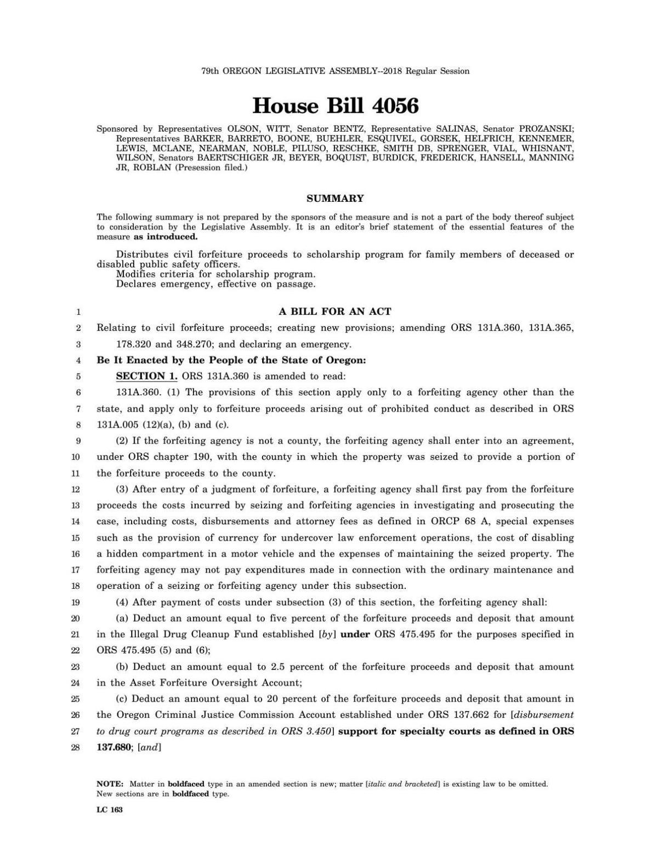 House Bill 4056