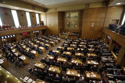 Oregon lawmakers attend inauguration despite bad weather (copy) (copy) (copy)