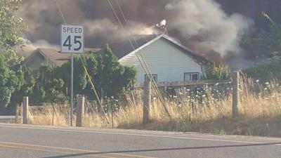Sweet Home area fire