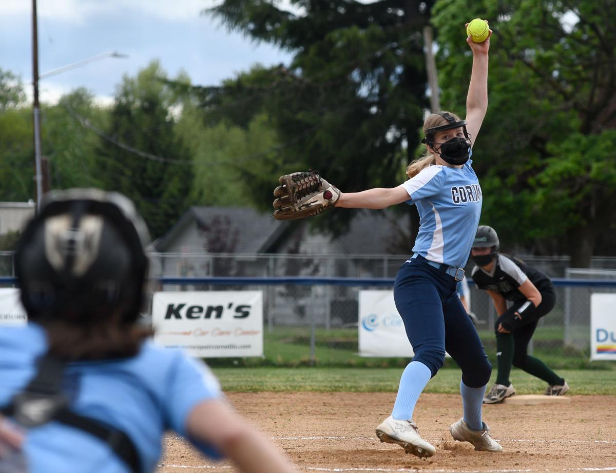 Corvallis vs West Salem softball 01