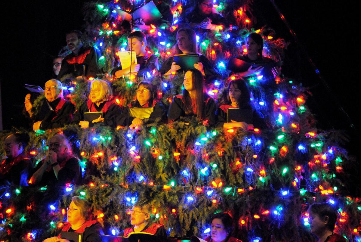 Singing Christmas Tree.37th Singing Christmas Tree Ushers In Holiday Season News