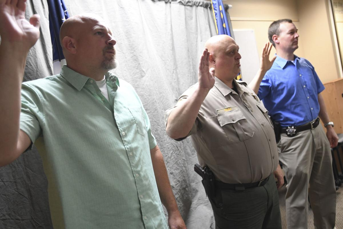 Linn County Sheriff's Office Promotions