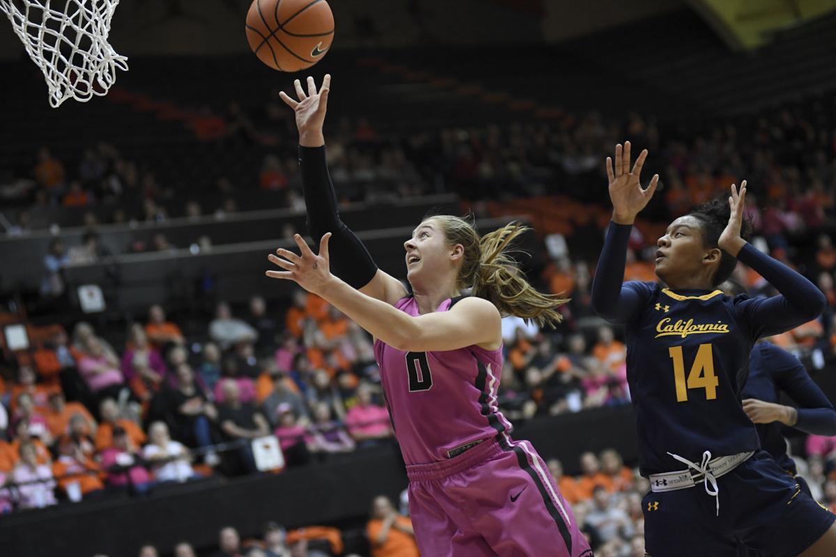 Oregon State vs. California Women's Basketball