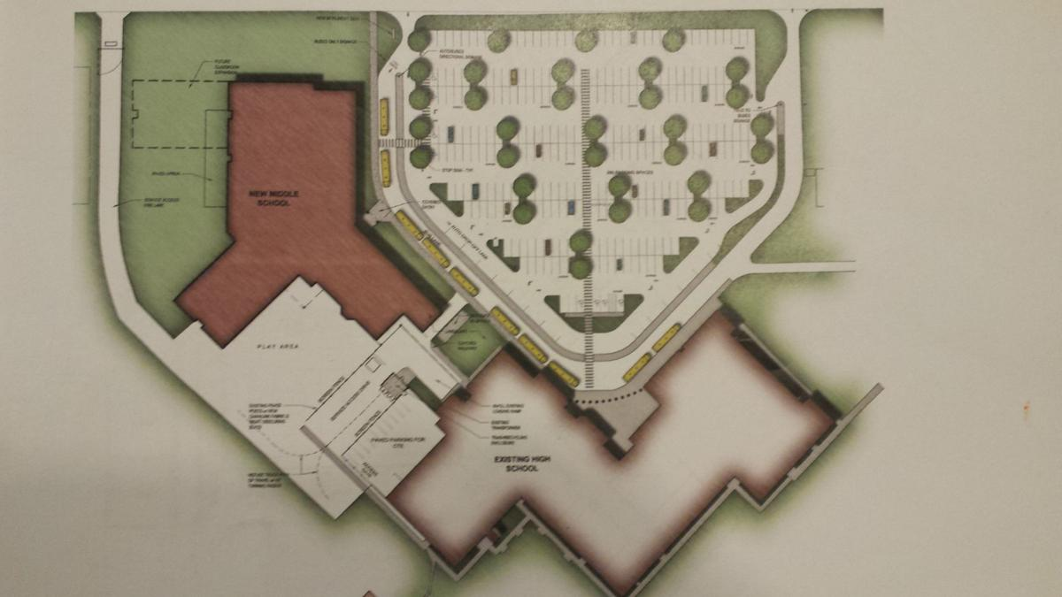 Jefferson Middle School design