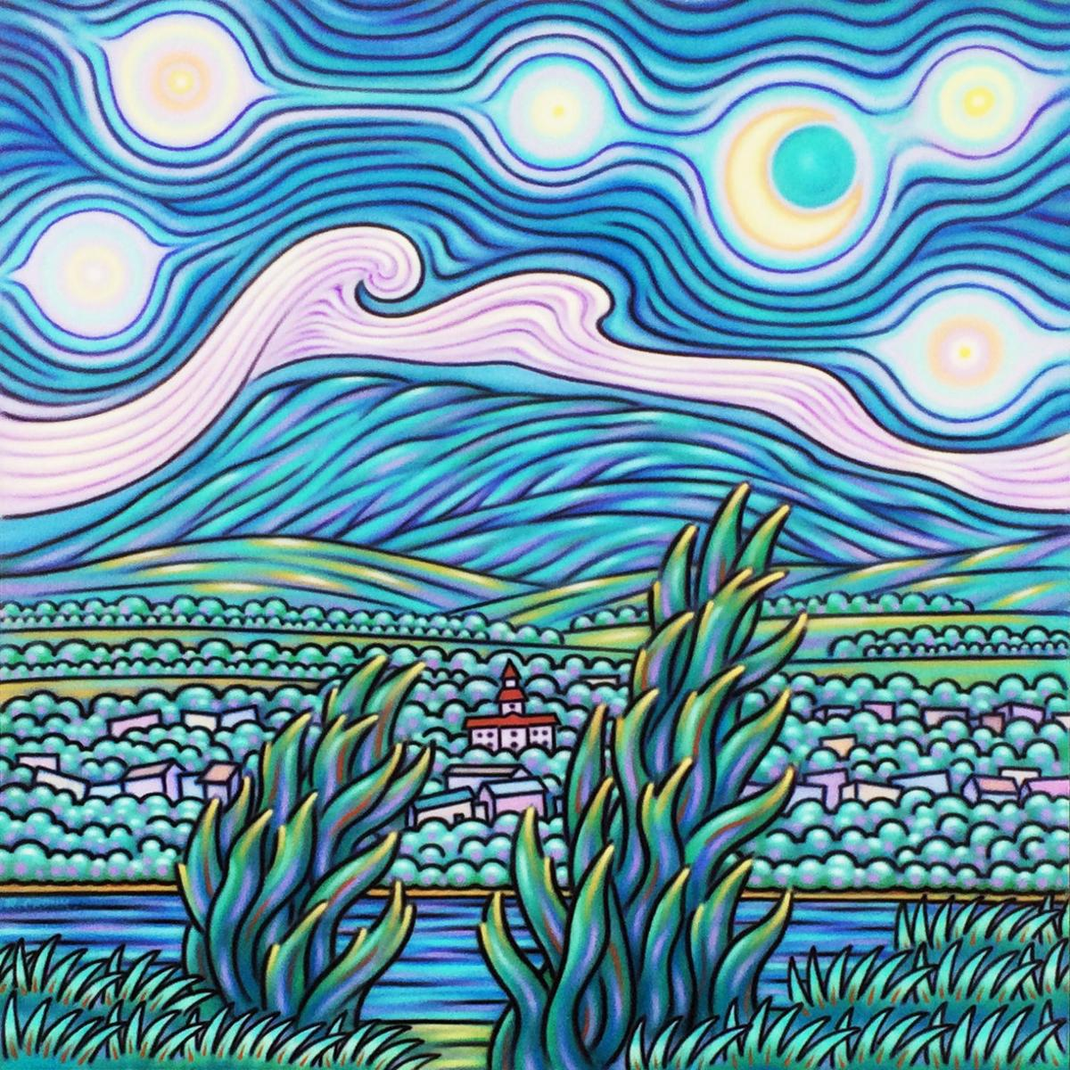 Rip Cronk's 'Starry Peak'