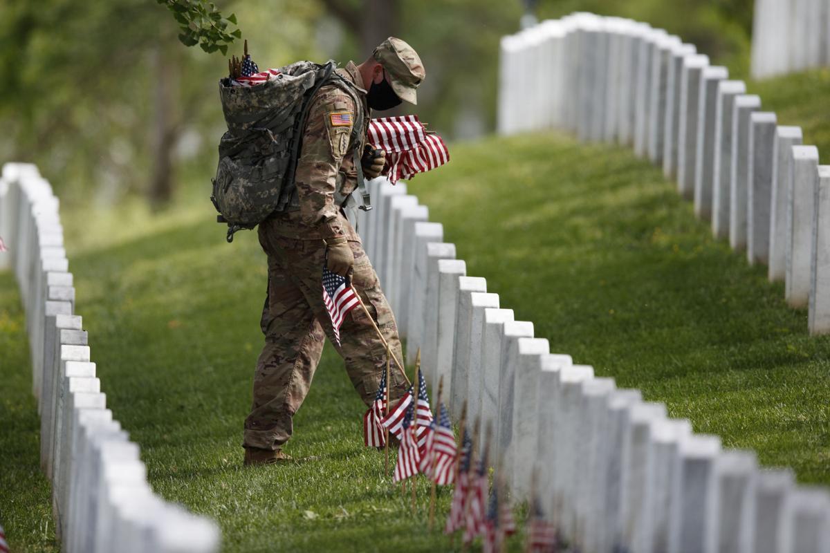 APTOPIX Arlington Memorial Day