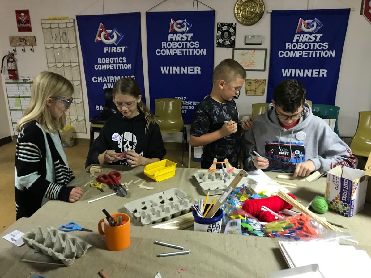 Firing Up Imaginations Lebanon Robotics Team Leads Junior Club In