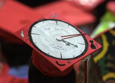 South Albany graduation clock