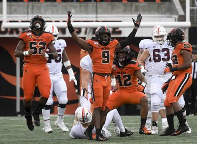 OSU Stanford football Rashed Jr. Sack