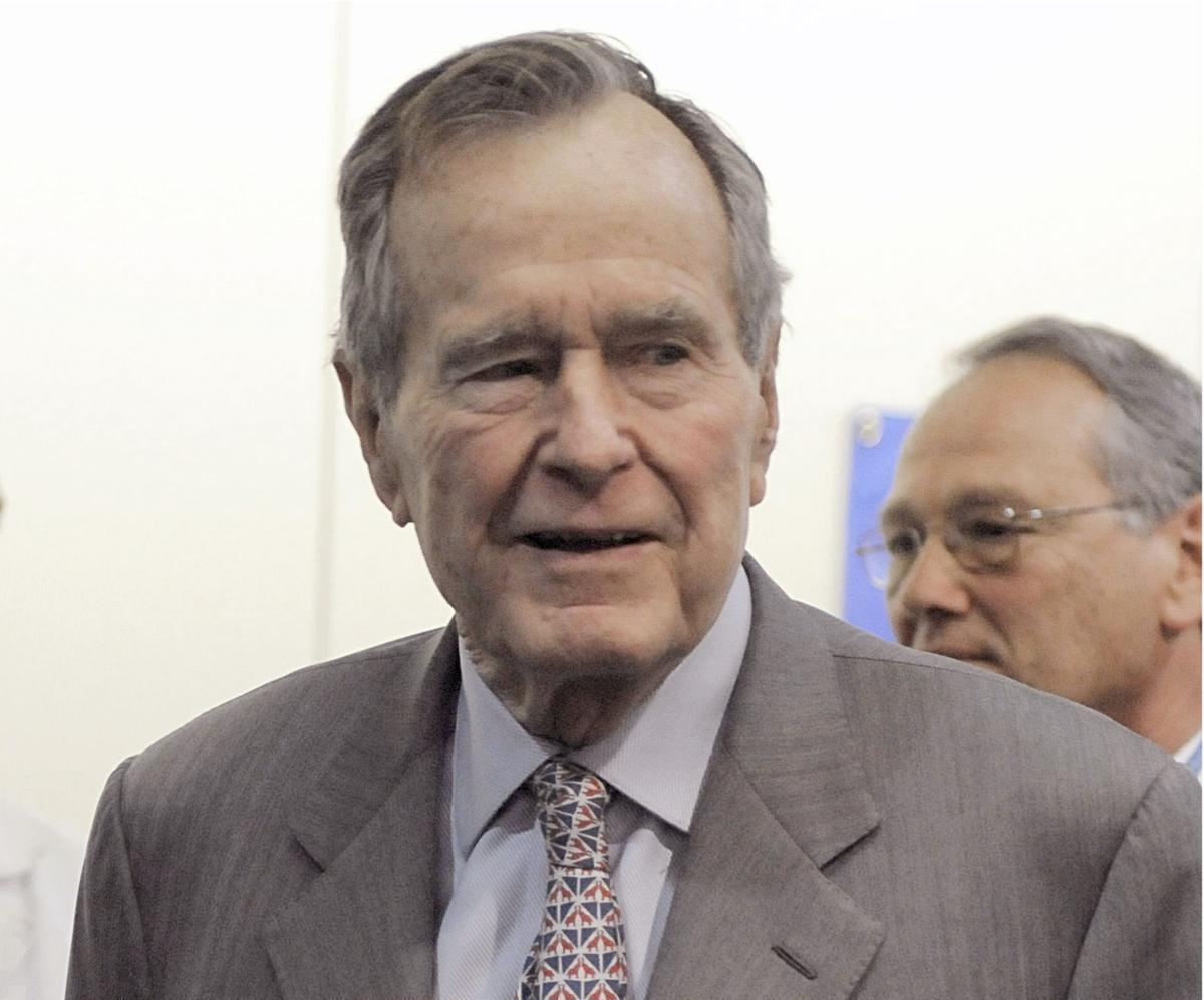 First Bush President Groping