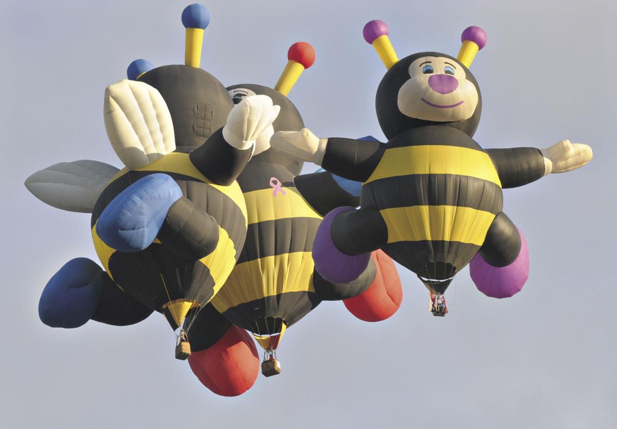 Little bee balloons