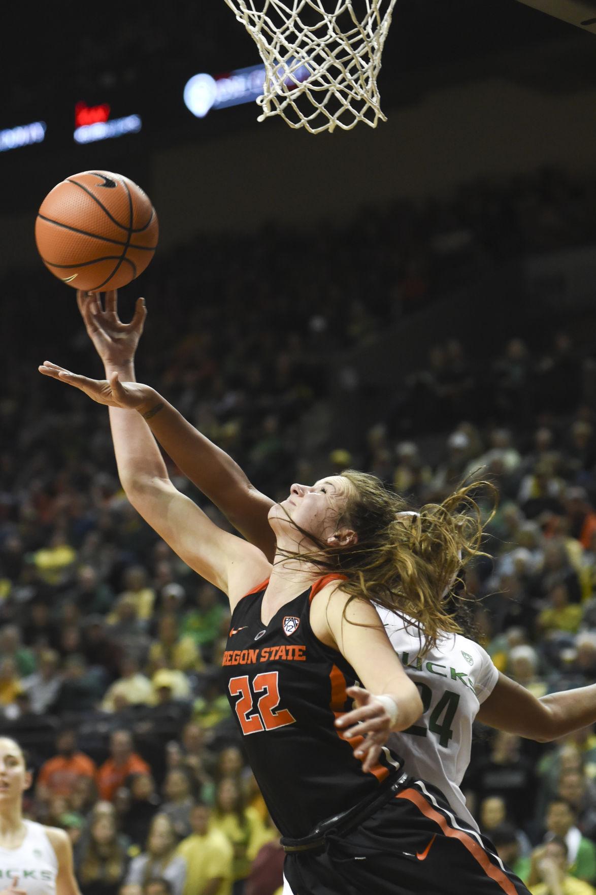 Oregon State vs. University of Oregon Women's Basketball