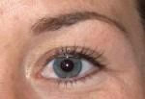 After Brow and Eyeliner
