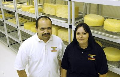 Mexican cheesemakers