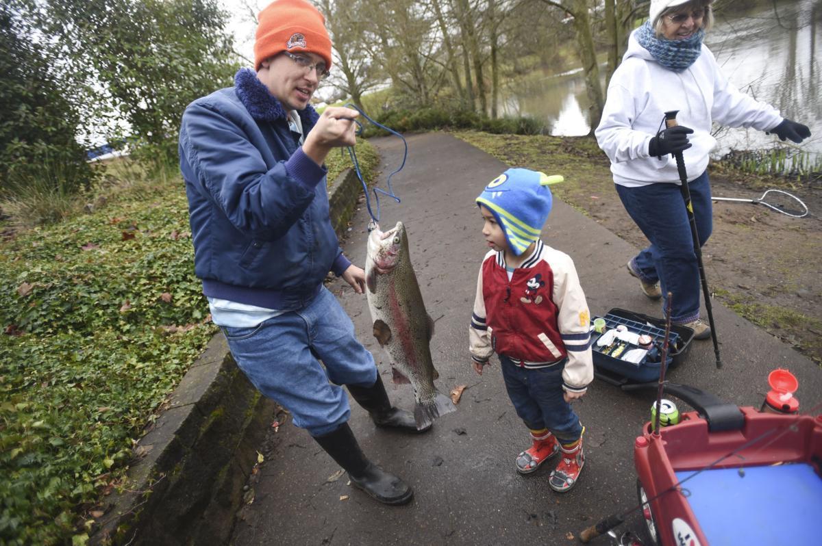 Waverly Lake Fishing