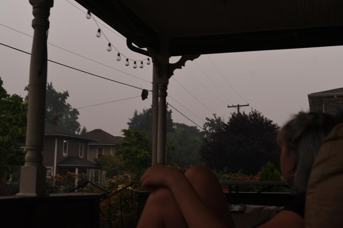 Wildfire smoke in Corvallis