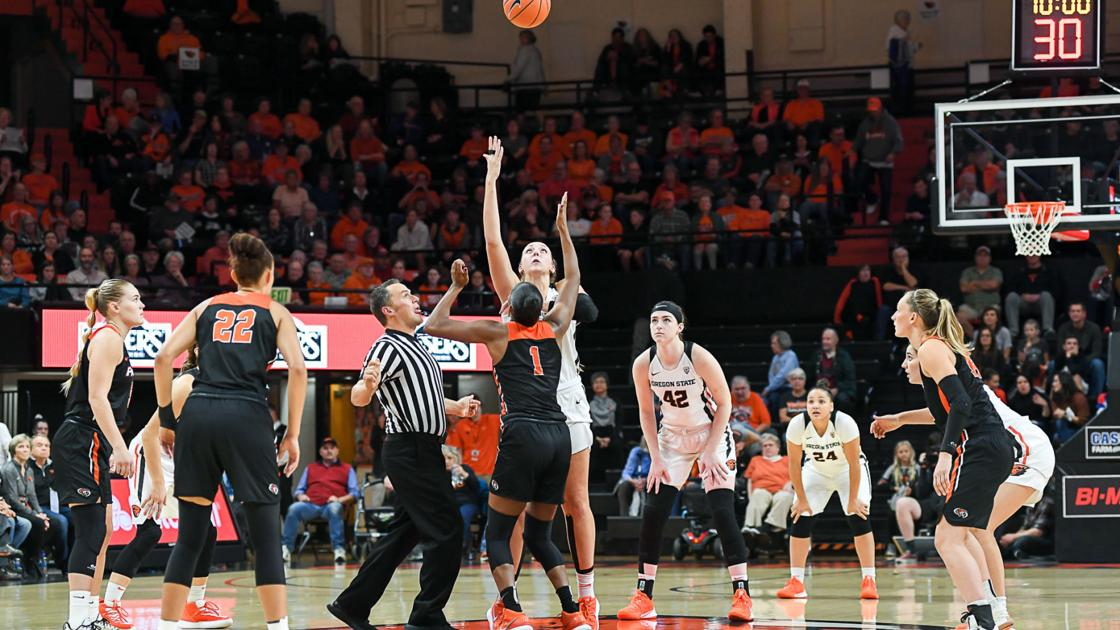 Gallery: Oregon State vs Pacific women's basketball