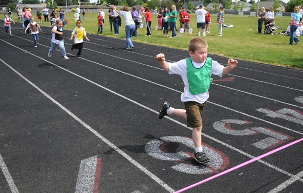 Young athletes gather  for Special Olympics