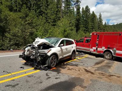 Motorcyclist crash