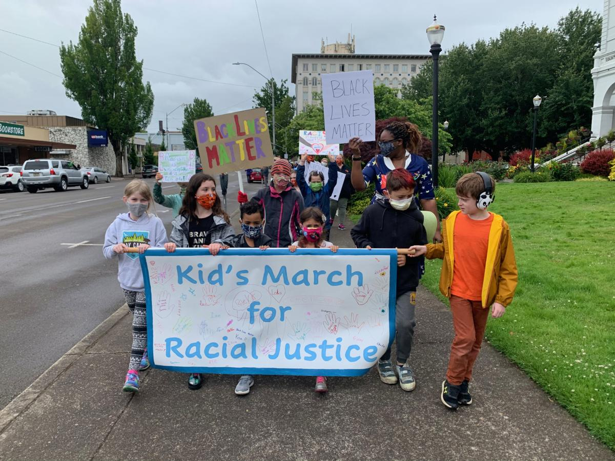 Corvallis youth lead the call for racial justice in downtown ...
