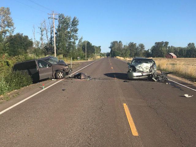 Crash near Monroe