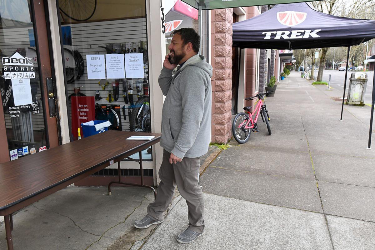 Corona business Corvallis Peak Sports
