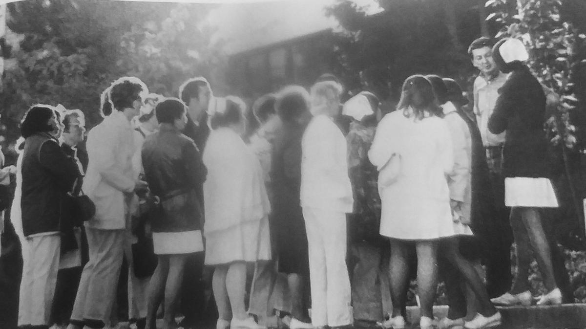 AGH nurses resign (1973)