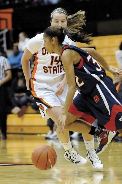 OSU women's basketball: Ali Gibson