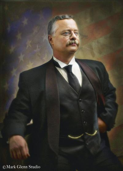 Joe Wiegand as Teddy Roosevelt