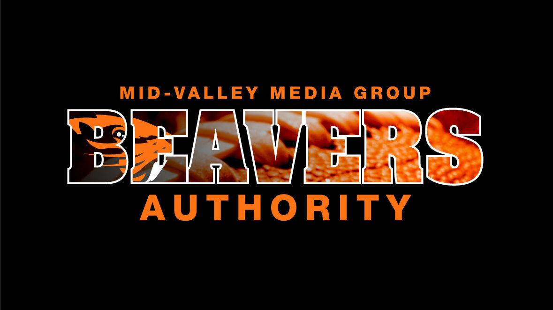 Beavers Football Logo Black