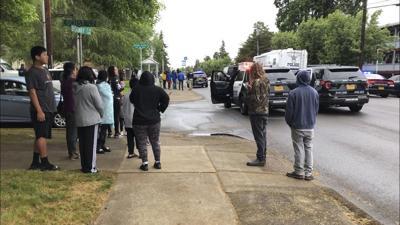 Oregon-Police Officer Shot