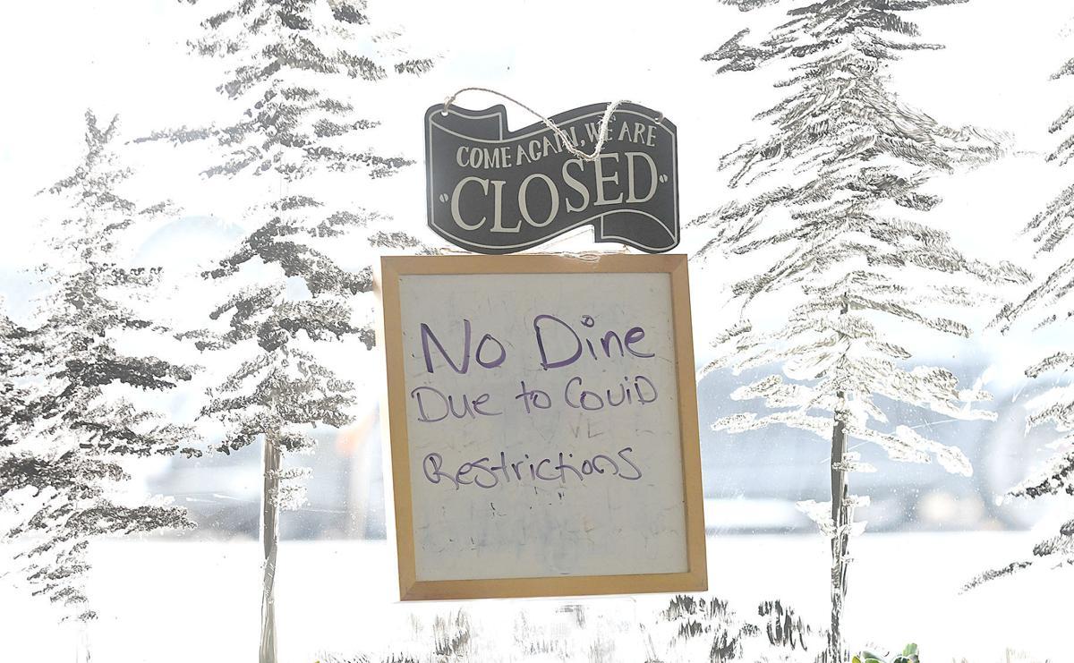 Stock PIx: Restuarants Closed