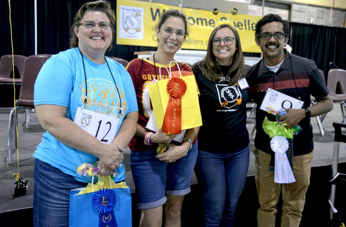 Adult spelling bee winners