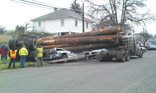 Log truck driver identified crime and courts