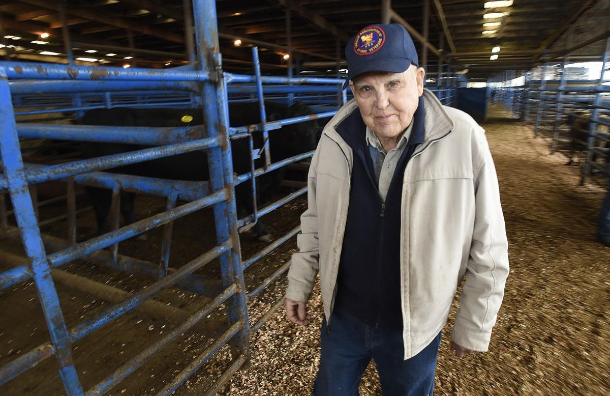 83-year-old livestock expert Claude Swanson calls it quits