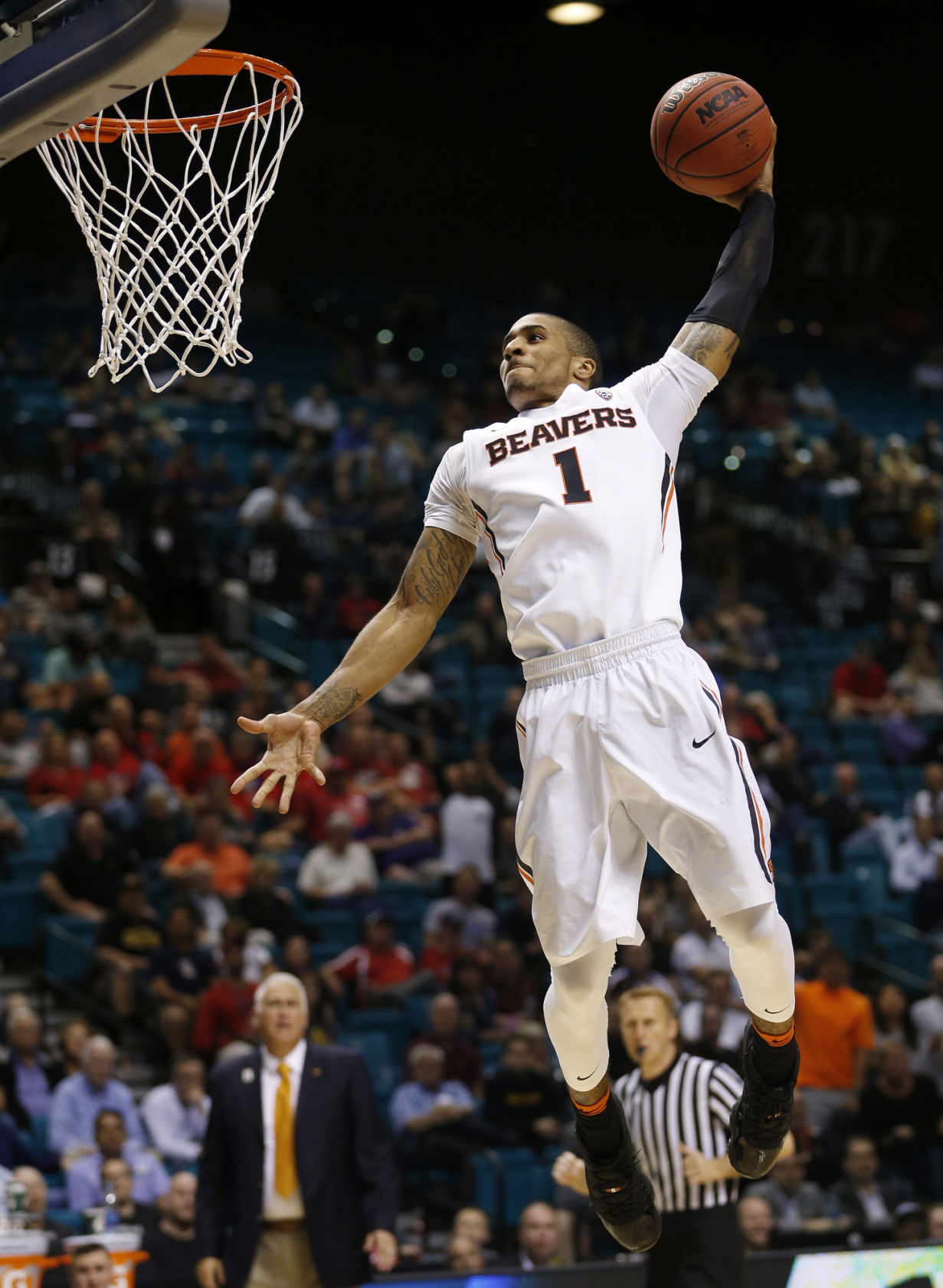 OSU menu0027s basketball Beavers strengthen NCAA tournament