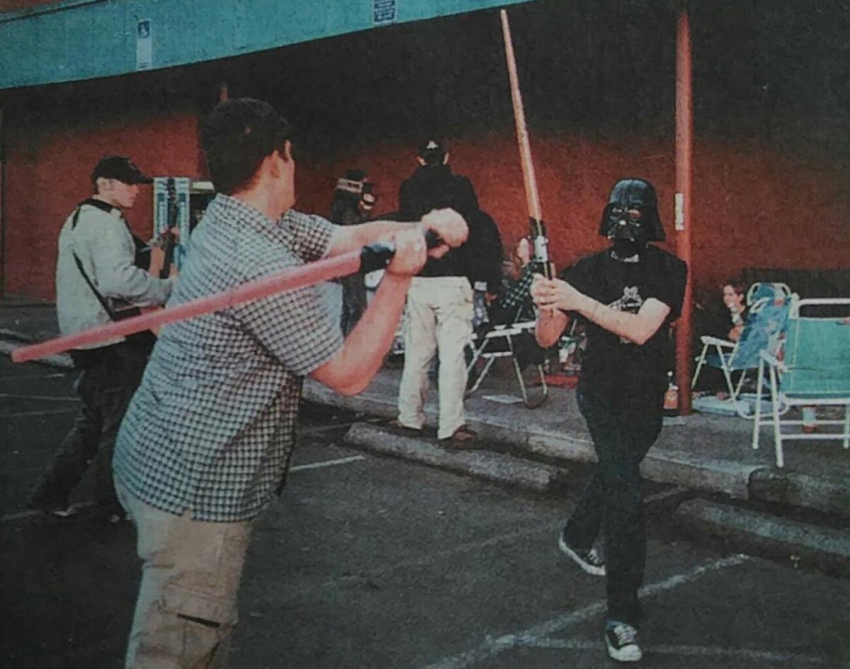 Star Wars Parking Lot 1999