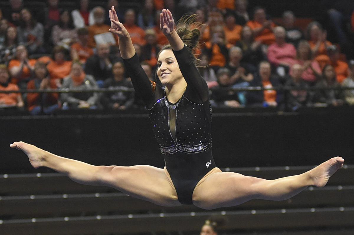 OSU gymnastics: Beavers get a big score for a big crowd in