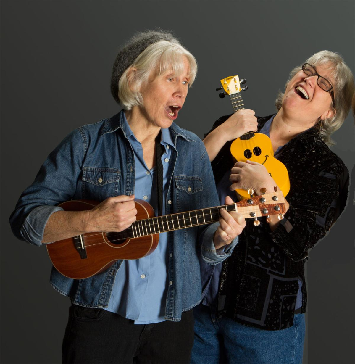 Jeanne Holmes and Suz Doyle