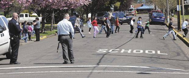 Bomb threat, loud sound: Waverly evacuated, Lafayette locked
