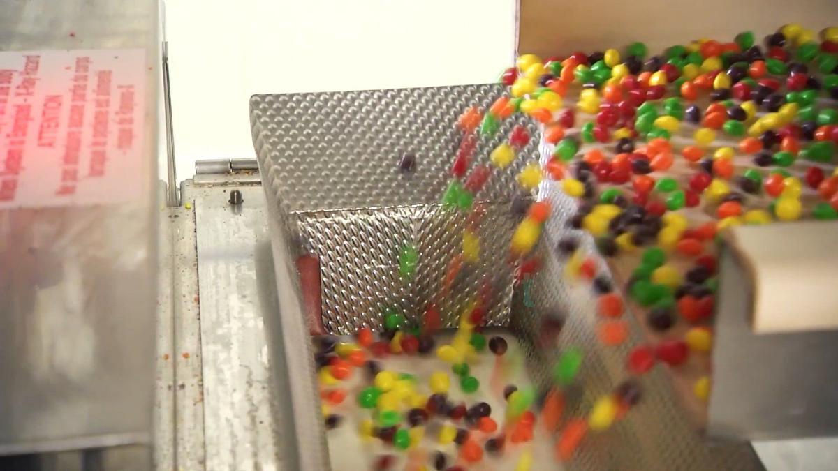 Skittles Being Made