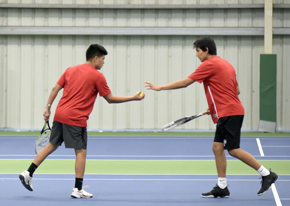 District Tennis SA boys Doubles