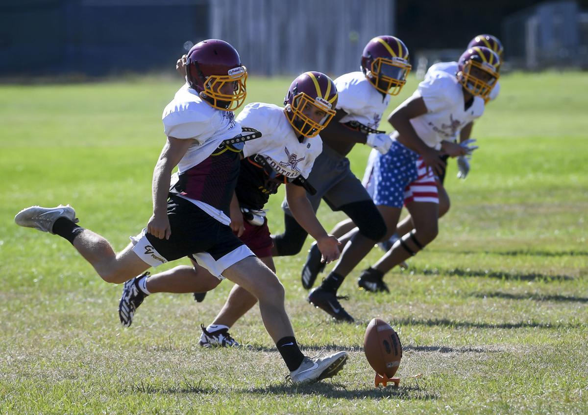 CVHS football practice 02